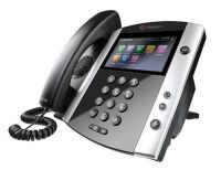 Logo Vvx 601 16-line business media phone with built-in bluetooth and hd voice. compatible partner platforms: 20. poe. ships without